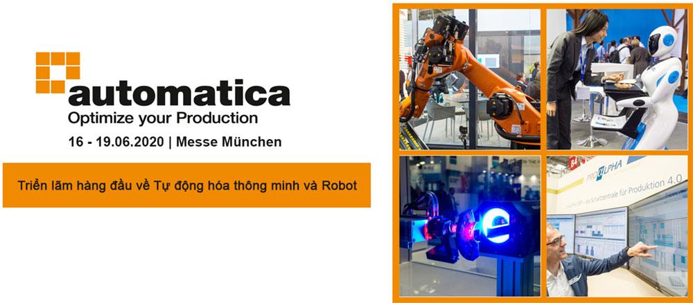 automatica - Triển lãm Tự động hóa thông minh
